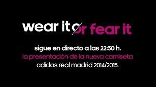 Presentación de las nuevas equipaciones del Real Madrid para la temporada 2014/15