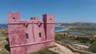 Red Tower Malta HD Drone 2015
