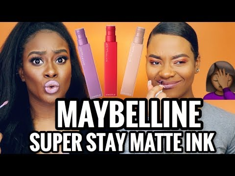 BRUTALLY HONEST REVIEW: MAYBELLINE SuperStay Matte Ink Un-Nude Swatches! MORENITA FRIENDLY OR NAH? thumbnail