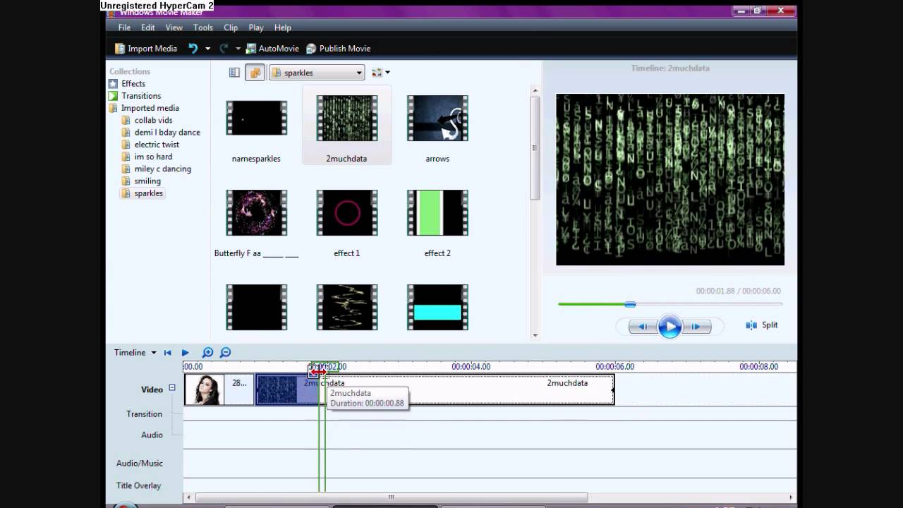 how to put pictures over video in windows movie maker