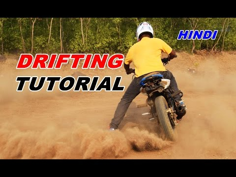 How to Learn Drifting on Motorcycle - Easy Tutorial in Hindi