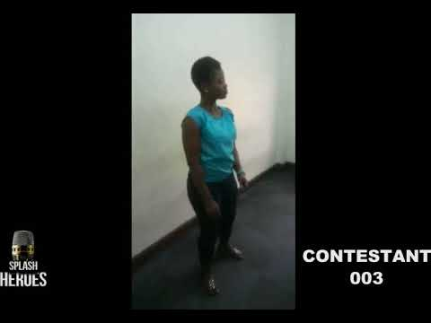 Classical Singer Blessing Agu performing for Splash Heroes Talent Show Audition