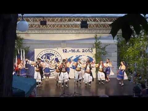 Sexy Slovak Folk Dances - Karpaty, Bratislava.