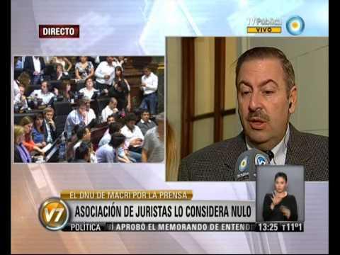 Visión 7: La Legislatura porteña debate el DNU de Macri sobre libertad de prensa