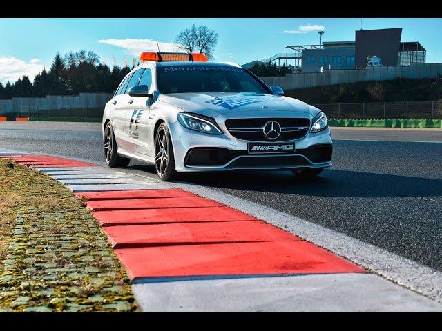 Mercedes AMG GT S C 63 S - Safety Car in Formula 1