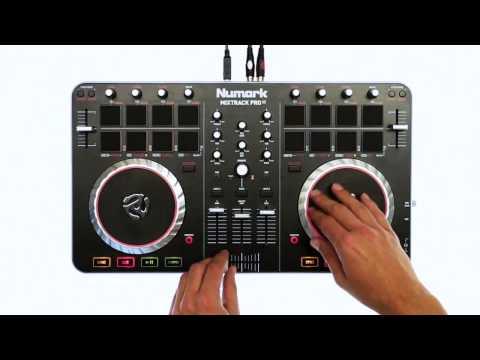 Serato DJ with the Numark Mixtrack Pro II 2 Demo @ Getinthemix.com