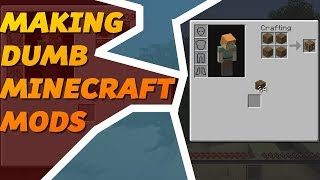 ONLY ONE INVENTORY SLOT - Making Dumb Minecraft Mods