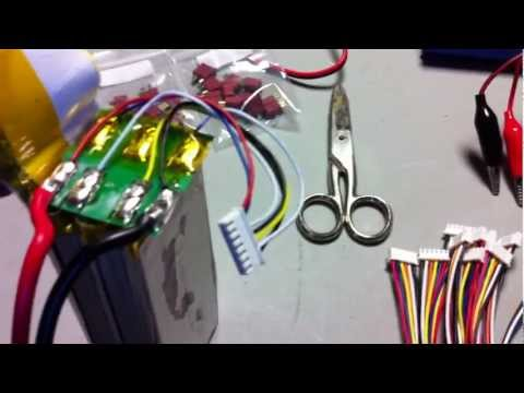 LIPO repair - Converting a 6s 5000mah pack to 5s