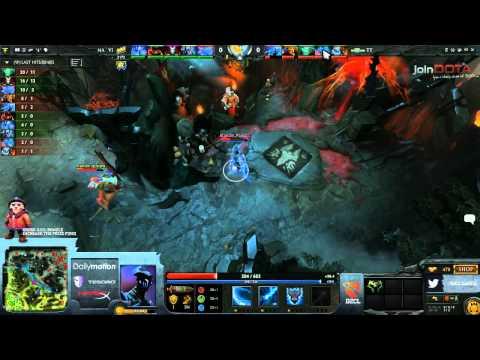 NaVi vs Team Tinker Game 2 Part 1   Dota 2 Champions League TobiWanDOTA