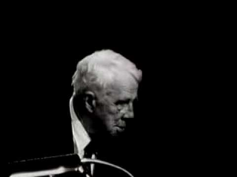 Robert Frost: Lovers  Quarrel With the World (clip)