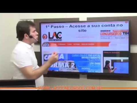 Inss 2014 - Técnico De Seguro Social - Curso Pré-edital - Aulas 01 A 07 video