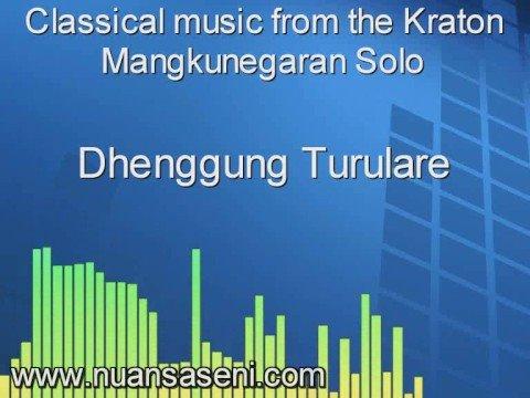 Classical music from the Kraton Mangkunegaran
