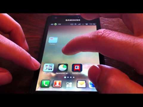QQ Launcher Pro su Samsung Galaxy S2