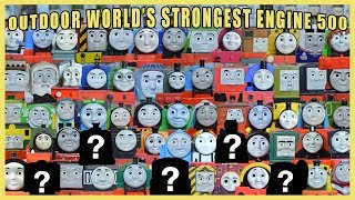 NEW OUTDOOR WORLD'S STRONGEST ENGINE 500: Thomas and Friends Welcome New Mystery Engines