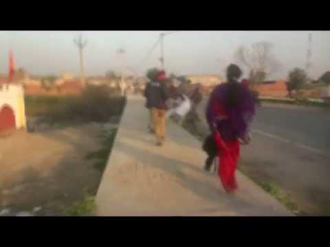 Punjab Police Beat Woman I Tarn Taran