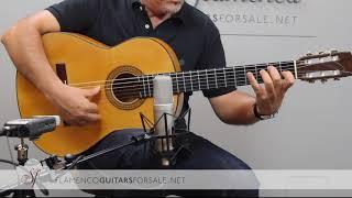 VIDEO TEST: Manuel Reyes 1969 flamenco guitar for sale