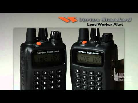 How to Use Emergency and Lone Worker Alerts on VX-450 radios