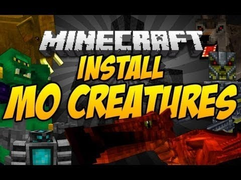 Minecraft 1.7.2 - How To Install Mo' Creatures Mod (Mac)