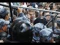 Москва, бульвары, 3 августа. Акция протеста. Прямая трансляция
