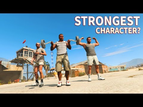 GTA V - Which main Character is the Strongest?