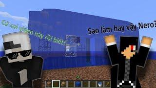 Minecraft Pe: Xây nhà bằng nước