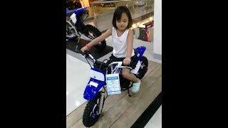 Adorable Toddler Moto Vlogger
