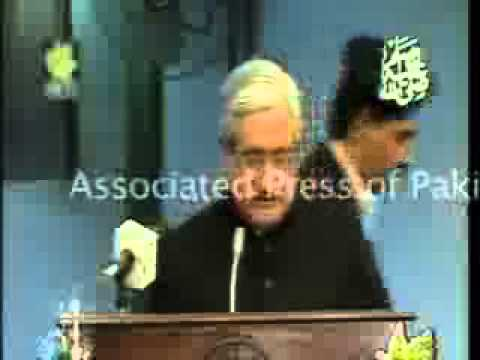 President AJK Sardar Yaqoob Khan addresses the joint Session of the AJK Legislative Assembly and Kas