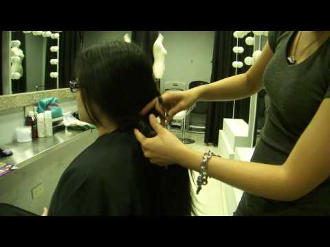 Donate hair to make wigs for cancer patients