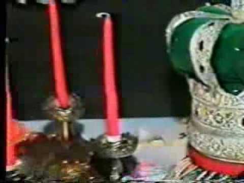 Fatemah Ladak Qasim di Mehndi (Video footage)