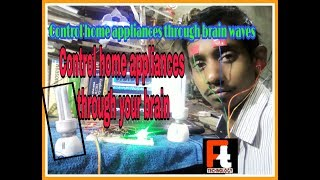 control home appliances using brain wave | how to make brain control switch