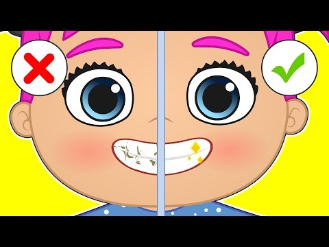 BABY ALEX AND LILY 😁 Learn How to Brush Your Teeth Before Going to Bed | Educational Cartoons
