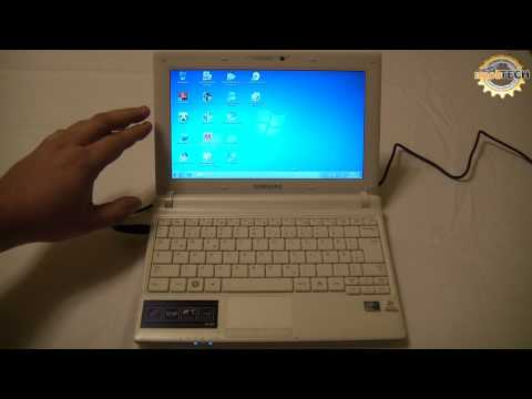 Netbook Samsung N150 Endi - Hands on & Review - NooBTECH.at