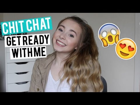 Chit Chat Get Ready With Me || Everyday Makeup