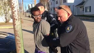 Mouthy Arrest in Lewiston
