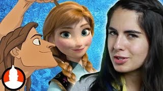 "Are frozen's elsa & anna tarzan's sisters? - the ""frozan"" theory: cartoon conspiracy (ep. 8)"