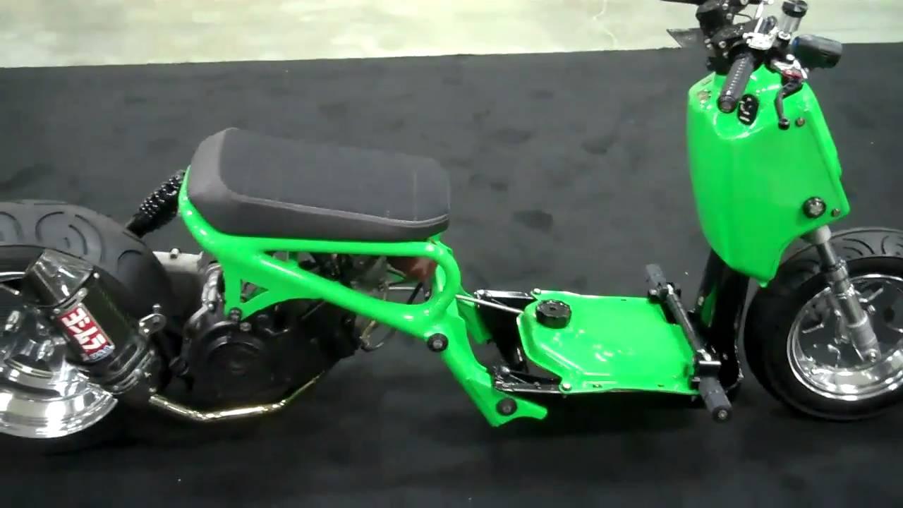 Своими руками тюнинг скутера