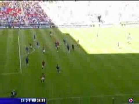 Manchester United Ryan Giggs Goal vs. Chelsea Community S. Video