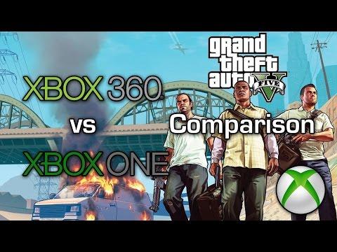 Grand Theft Auto V - Xbox 360 vs Xbox One - Graphics Comparison