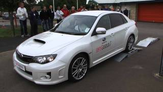 Si Drive - STI Center Diff Demo from Subaru UK drive team