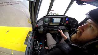Air Tractor Cockpit View 502xp