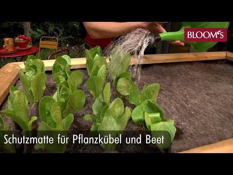 Tipp Für Garten, Balkon Und Terrasse: Schutzmatte Für Pflanzkübel Und Beet