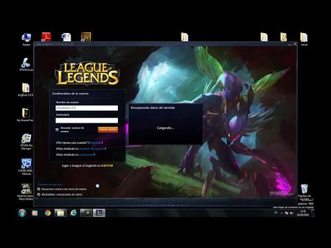 Como reparar error de League of legends
