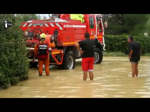 Hérault : les images des inondations