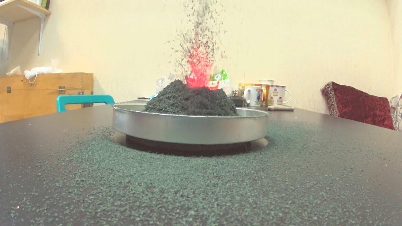 Как своими руками сделать вулкан дома