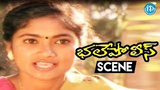 Bhale Police Movie Scenes - Goons Killed Shilpa's Friend Jaya || Ali || Ritu Shilpa