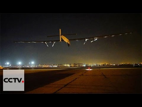 Solar Impluse 2 takes off from Cairo on final leg of round-the world journey