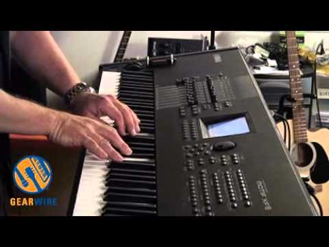 Yamaha Motif XF8 Workstation Keyboard Walkthrough, Part One Of Three (Video)