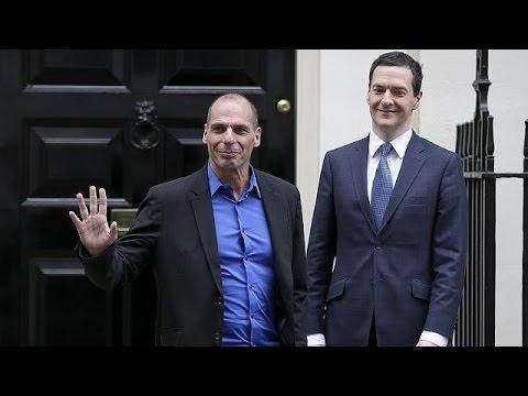 Le ministre grec des finaces Yanis Varoufakis à Londres - economy