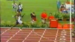Michael Johnson 19.32 WR (200 metri Olimpiadi Atlanta 1996)