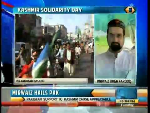 Mirwaiz thanks Pakistan for supporting Kashmir cause